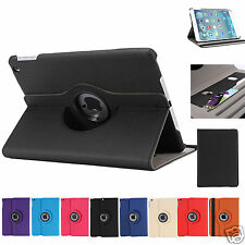 Wallet Smart Cover Case 360 Rotating for Apple iPad Air iPad 5