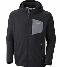 NWT Columbia Mens  Fleece Scale Up Full Zip Hooded Jacket S, M, L, XL  Black