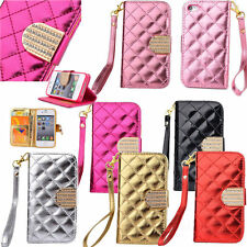 Stand Magnetic Wallet Flip Cell Phone PU Leather Skin Full Cover Case