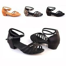 New Multi-colors Women Full Sizes Ballroom Latin Tango Dance Shoes Heeled Salsa