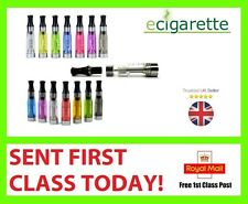 1x or 5x E SHISHA CIG ATOMIZER ATOMISER CLEAROMISER CLEAROMIZER MIXED COLOURS