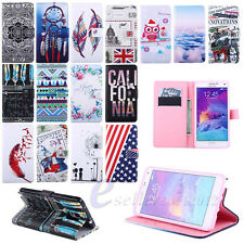 Stylish Flower Flip Wallet Leather Stand Pouch Skin Protect Case Cover / E-ZONE