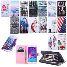 Stylish Magnetic Flip Leather Wallet Stand Handbag Skin Soft Case Cover -Waffa