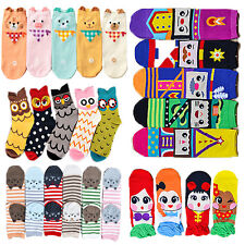 Unisex Womens Shoes Eyes Creative Cute Cartoon Korean Cotton Hosiery Socks