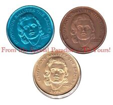 MARILYN MONROE 1974 MARDI GRAS COIN DUBLOON TOKEN FRENCH QUATER NEW ORLEANS
