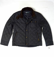 POLO RALPH LAUREN MENS NEW NAVY BLUE QUILTED COAT JACKET ALL SIZES RRP £300