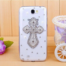 H1 Cute Luxury Bling Crystal Diamond Hard Case Cover for Samsung Galaxy