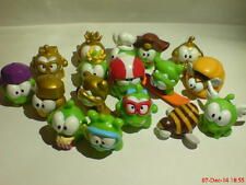 Nommies figures CUT THE ROPE collectables OM NOM series 2