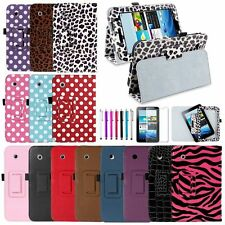"Folio PU Leather Case Stand Cover For Samsung Galaxy Tab 2 7.0 7"" 7-inch Tablet"