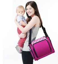 New Baby Diaper Nappy Changing Bag Multifunctional Mummy Tote Dining Chair