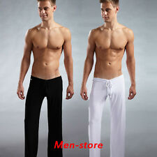Men's Sports Yoga Pants Casual Trousers Lounge Loose Pantalons Trunks Homes