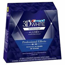 Crest3D Pro Effects Professional Teeth Whitening Whitestrips LUXE 3,7,10,14,20