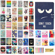For Apple iPad mini 1 2 3 Painting Smart Case PU Leather Stand Folio Cover New