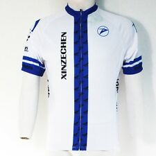 BLue Cycling Clothing Bike Bicycle Short Sleeve Jersey Top Quick Dry Breathable