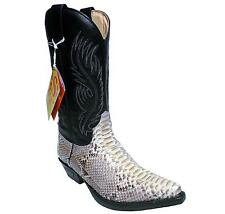Sendra Boots Cowboyboots Style No. 2605 Nature with Pythonleather