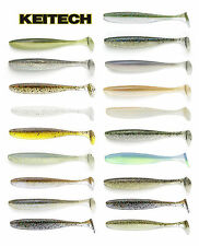 "KEITECH EASY SHINER SWIMBAIT 4"" (10 CM) 7 PACK select colors"