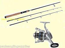 Lineaeffe Carbon Twin Top Spinning Fishing Rod-2 Top Spin Rod & Drake  30 Reel