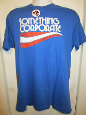 HOT TOPIC:  Something Corporate Blue Band T-Shirt