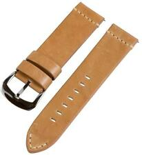 PREMIUM 2 PIECE VINTAGE SADDLE LEATHER INTERCHANGEABLE Watch Band Strap Fits IWC