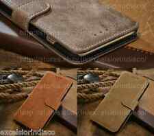 Premium Classy Exquisite Leather Wallet Cover Case for iPhone 6 Plus (5.5 inch)