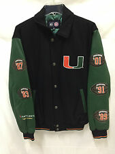 Miami Hurricanes Wool/Leather Limited Edition Championship Jacket