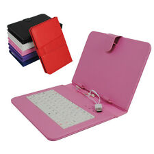 9 inch USB Keyboard Case Cover Stand For Android Tablet PC With OTG Cable