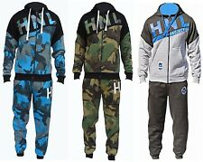MENS FLEECE JOGGING SUIT HOODED TRACKSUIT BOTTOMS TROUSERS PANTS TOPS