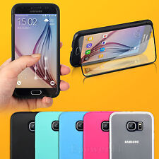 For Samsung Galaxy S5 Note4 Wrap Up Case Cover with Built In Screen Protector