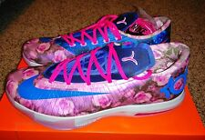 Nike KD VI 6 Aunt Pearl Rose Camo Supreme Kevin Durant Print 7 VII What The