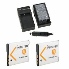 2x NP-BN1 Li-ion Battery&1x Charger Set for SONY Cyber-shot Camera NPBN1 N TYPE