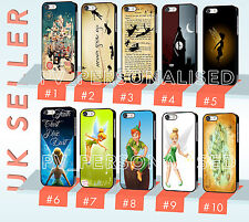 Disney Peter Pan Tinkerbell Neverland Quote Hard Phone Case For iPhone & Samsung