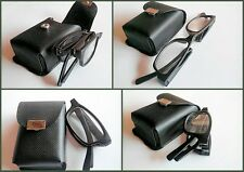 MT18/6 Super Value Compact Pocket 2014 Folding Matt Black Reading Glasses Case