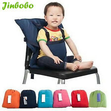 New Baby Portable High Chair Feeding Seat Infant Travel Seat Safety Belt