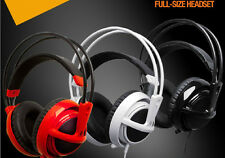 2014 HOT New SteelSeries Siberia V2 Full-size Stereo Game Headphones Headset