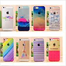 Ultra thin Cute Pattern Painted Hard Back Skin Case Cover For iPhone 5S 6 6 Plus