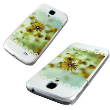 Autumn Flower/Butterfly Pattern Hard Phone Case Cover Samsung Galaxy S4 i9500