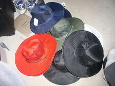 Awesome New Mesh Solid Color Aussie Bush Hunting Boonie Safari Hat