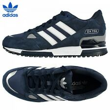 online store 15f7d bc324 Brand New Adidas Originals ZX 750 Mens Trainers G40159 NAVY 100% Authentic  UK 10