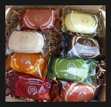 The Body Shop Soap Satsuma Shea Coconut Olive Moringa 2 Pack