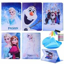 For iPad Samsung 7.9-10.5 frozen tablet case princess cover for kids flip cover
