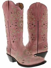 Womens cowboy boots ladies 234 rhinestones crystals sexy lane corral wedding new
