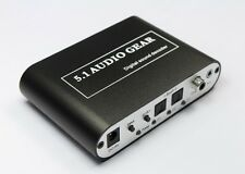 Digital To Analog Audio Decoder Converter 51A SPDIF/Coaxial DTS/AC3 5.1/2.1CH