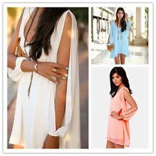 Sexy Lady Summer Casual Sleeveless Party Evening Cocktail Short Mini Dress HOT