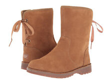 Toddler UGG Australia Corene 1005146T Chestnut Suede 100% Authentic Brand New