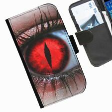 Eyes  Leather wallet personalised phone case for Sony Xperia M2 E1 M J