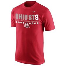 Ohio State Buckeyes MENS Shirt 2014 National Champions 8X Champs T-Shirt by Nike
