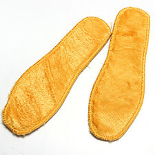 1- 2 pair Women Man Unisex Plush Shearling Shoe Boots Insoles Inserts Pad Warmer