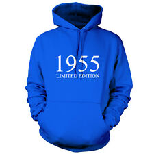 1955 Limited Edition - Unisex Hoodie / Hooded Top 60th Birthday Present / Gift