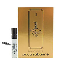 1 Million for Men by Paco Rabanne * NEW Fragrance Carded  Vial Sample EDT Spray