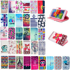 Hybrid Wallet Stand Leather Case Cover For Samsung Galaxy Trend Plus S7580 S7582